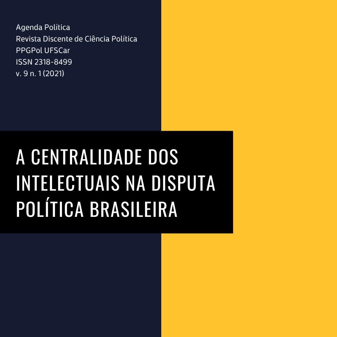 Visualizar v. 9 n. 1 (2021): A centralidade dos intelectuais na disputa política brasileira